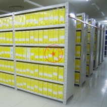 中型封板仓储货架